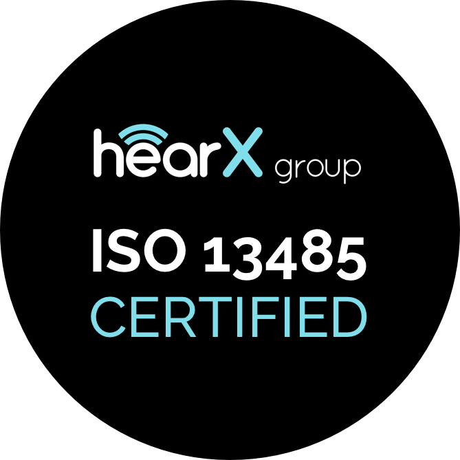 Milestone ISO 13485 Certification for hearX group
